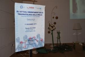 11 Dicembre 2015 - Gli attuali orientamenti sulla traumatologia della spalla Convegno regionale SICSeG Campania