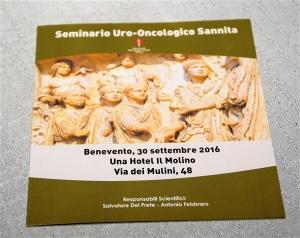 30 settembre 2016 - Seminario Uro- Oncologico Sannita
