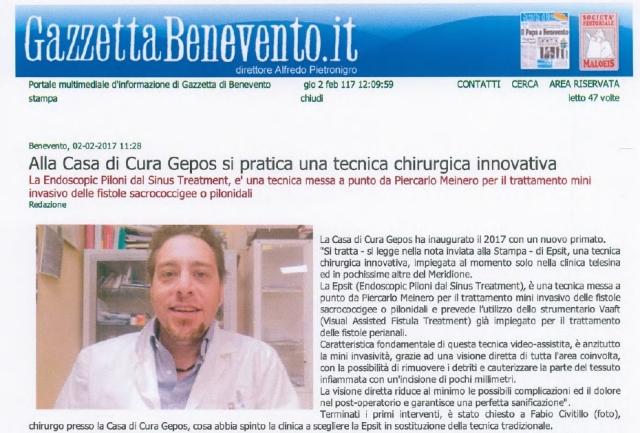 Il Dottor Fabio Civitillo