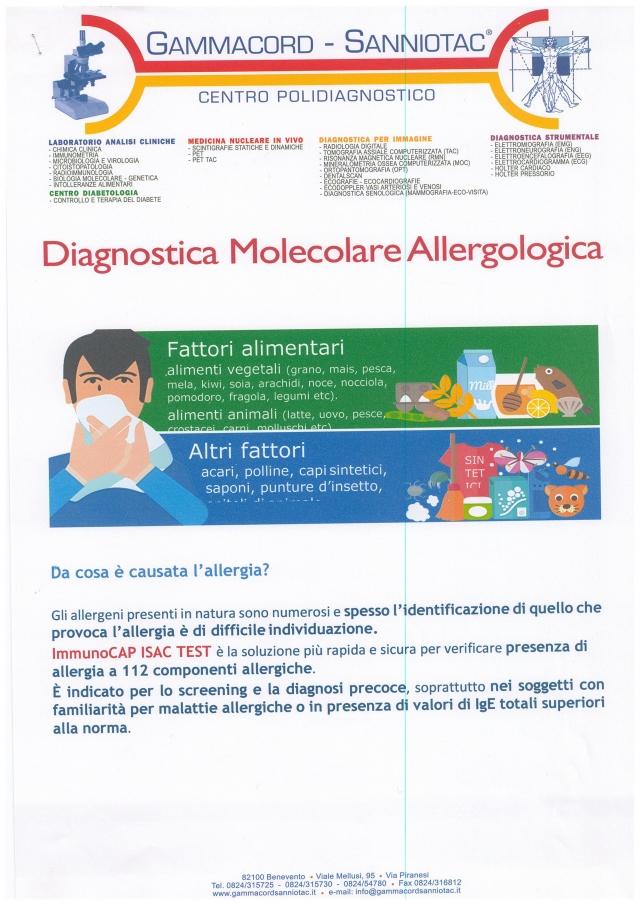 Diagnostica molecolare allergologica 1